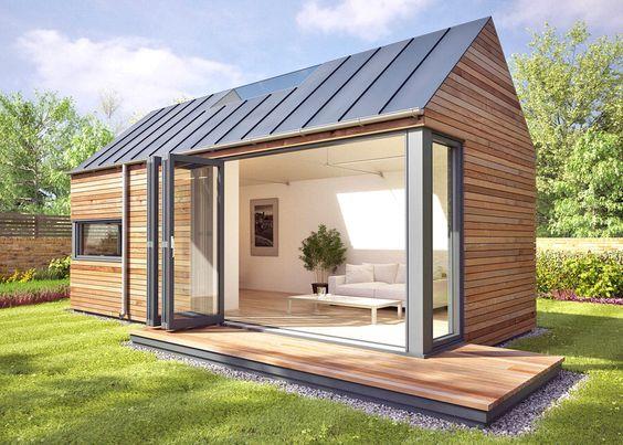 Šiuolaikiškam žmogui – moduliniai namai