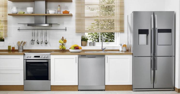 Virtuvinės buitinės technikos prietaisų valymo ypatumai